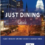 Just Dining Guide cover 2016